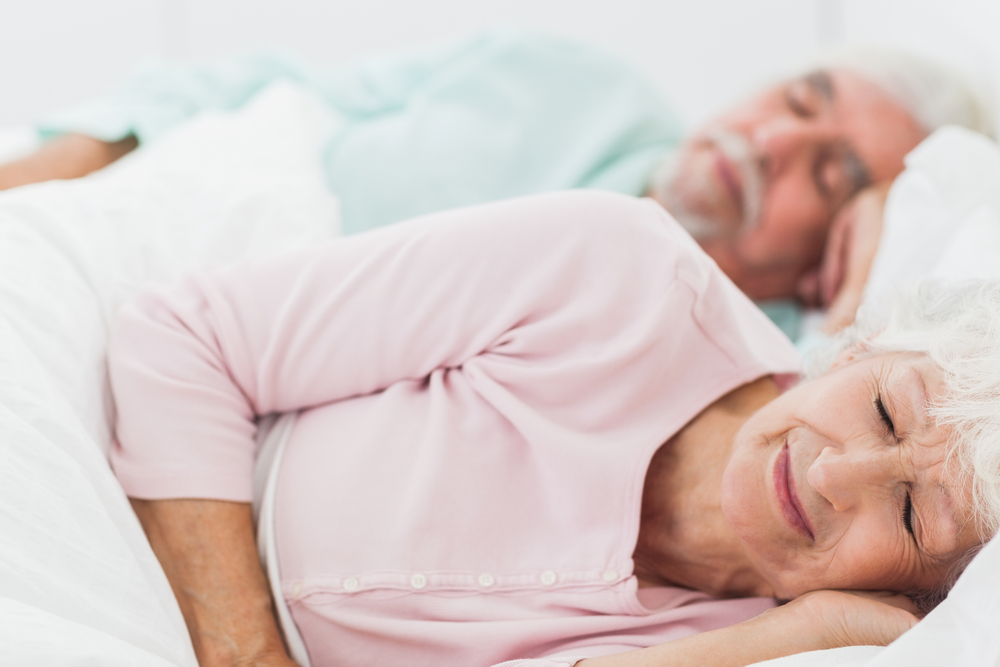 elderly sleep
